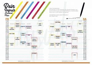 Spielplan Impulsfestival (©www.impuls-passau.de)