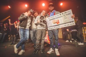 New Music Award 2015 im Postbahnhof in Berlin - Gewinner 2015: Antilopen Gang