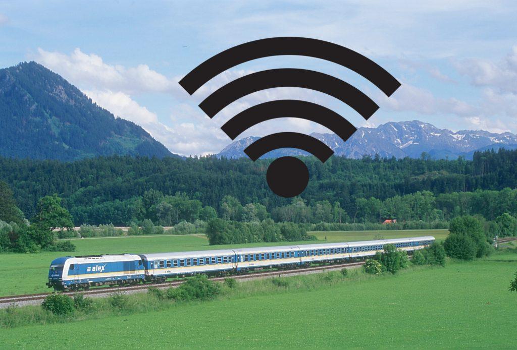 Ab 2017 wird es in den alex Zügen W-LAN geben. © Die Länderbahn GmbH DLB; Montage CampusCrew