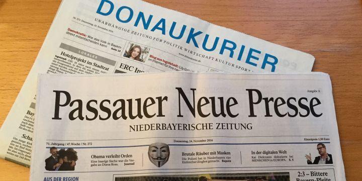 Die PNP hat den Donaukurier gekauft © Thomas Mrazek/BJV