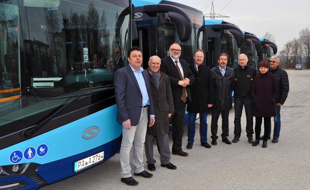 Neue Busse für Passau! © Stadt Passau